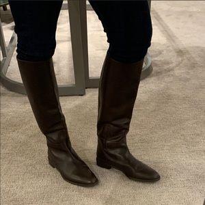 Stuart Weizmann riding boots 9.5 brown